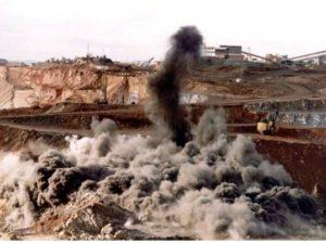 excavacion a cielo abierto terreno duro