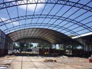 aluminio estructural techos