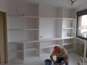 mueble fabricado con escayola - Muebles De Escayola