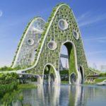 La arquitectura futurista ecológica