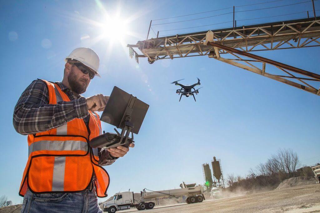 Drones Construccion