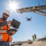 El uso de drones en la construcción de edificios